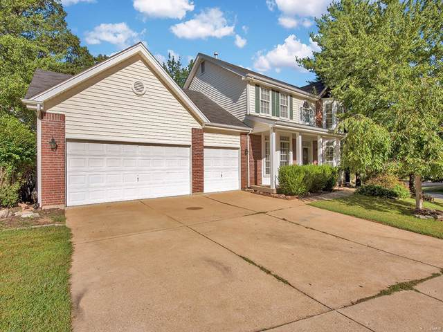 1352 Richland Meadows Drive, Ballwin, MO 63021 (#19068527) :: St. Louis Finest Homes Realty Group