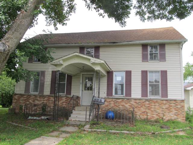 405 W 3rd North Street, MOUNT OLIVE, IL 62069 (#19068541) :: Clarity Street Realty
