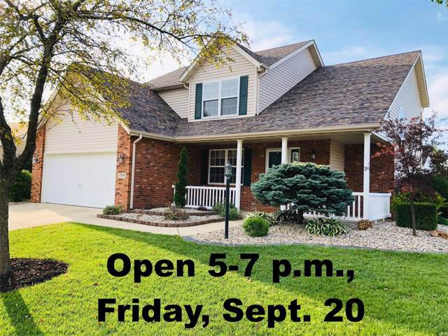7000 Stoney Creek Drive, Edwardsville, IL 62025 (#19069777) :: The Becky O'Neill Power Home Selling Team
