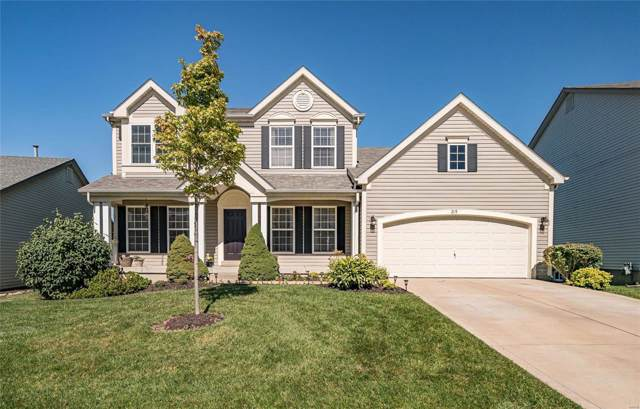 215 Greenshire Lane, Dardenne Prairie, MO 63368 (#19069861) :: The Kathy Helbig Group