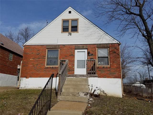 847 Wall Street, St Louis, MO 63147 (#19069986) :: Clarity Street Realty