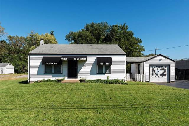 9822 Halls Ferry, St Louis, MO 63136 (#19071540) :: Clarity Street Realty