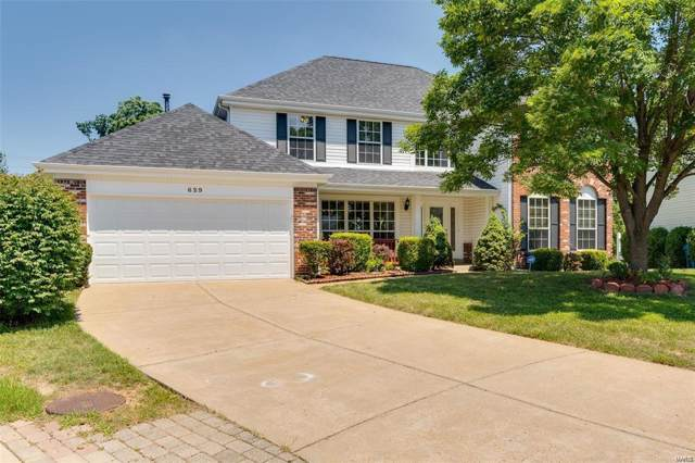 629 Charleston Oaks Court, Ballwin, MO 63021 (#19072488) :: Clarity Street Realty