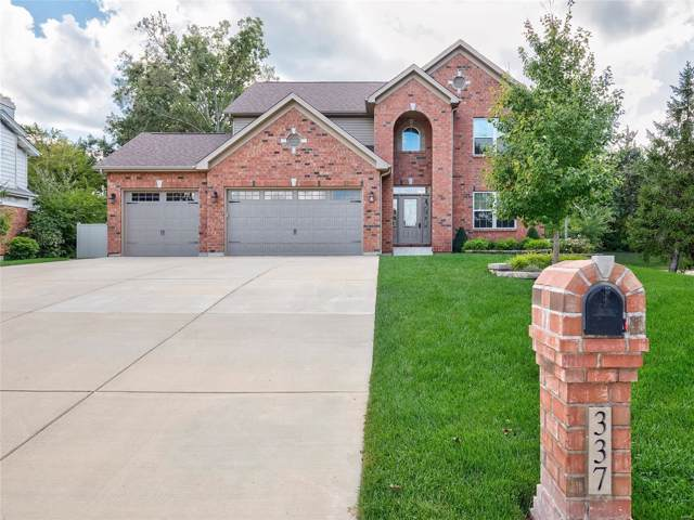 337 Meadowbrook Drive, Ballwin, MO 63011 (#19073630) :: Peter Lu Team
