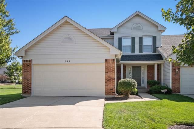 644 Hawk Run Drive 45A, O'Fallon, MO 63368 (#19074544) :: Kelly Hager Group | TdD Premier Real Estate