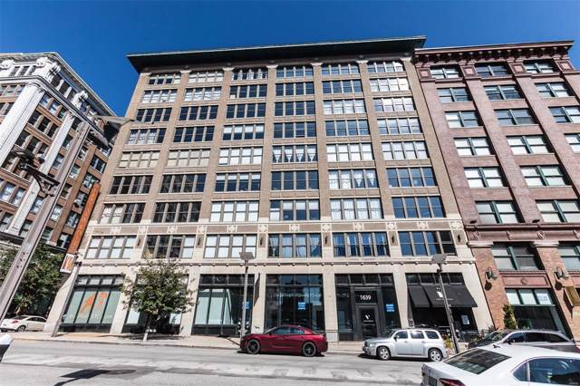 1635 Washington Avenue #509, St Louis, MO 63103 (#19077173) :: Holden Realty Group - RE/MAX Preferred