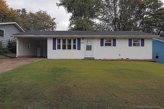 222 Oconnell, Cape Girardeau, MO 63701 (#19078467) :: The Kathy Helbig Group