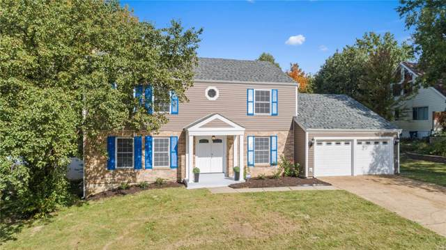 15525 Country Ridge Drive, Chesterfield, MO 63017 (#19078686) :: The Kathy Helbig Group