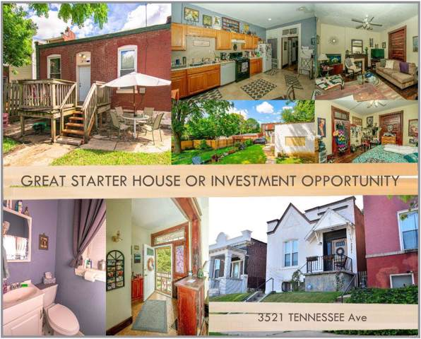 3521 Tennessee Avenue, St Louis, MO 63118 (#19079550) :: Clarity Street Realty