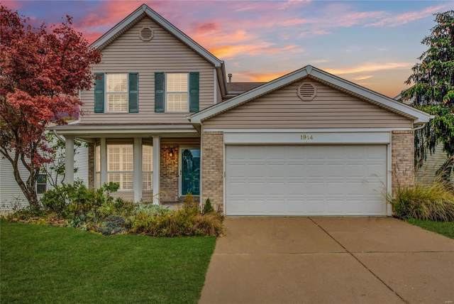 1914 Strawberry Ridge Drive, Ballwin, MO 63021 (#19081460) :: The Kathy Helbig Group