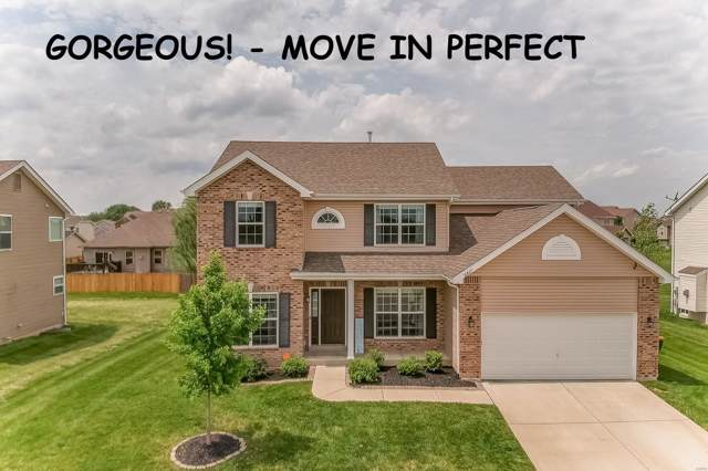 6817 Ridge Pointe Drive, O'Fallon, IL 62269 (#19082406) :: The Becky O'Neill Power Home Selling Team