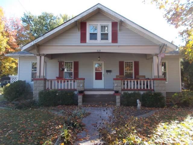 618 W Chester, NASHVILLE, IL 62263 (#19084175) :: Walker Real Estate Team