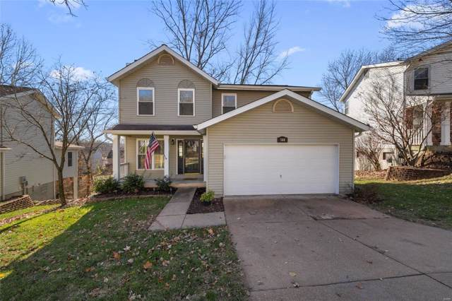 544 Elm Crossing Court, Ballwin, MO 63021 (#19086154) :: St. Louis Finest Homes Realty Group