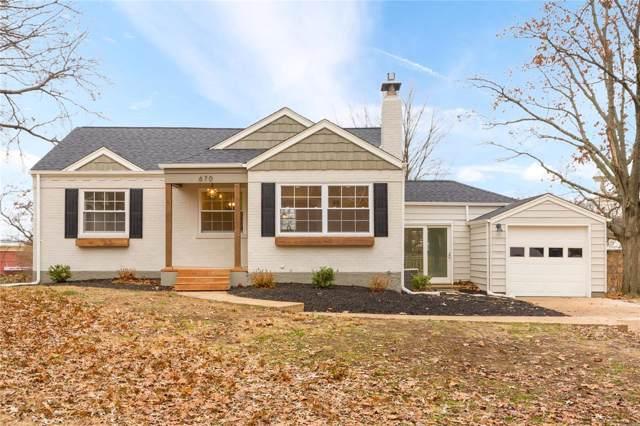 670 Deerhurst Drive, Webster Groves, MO 63119 (#19087757) :: Walker Real Estate Team