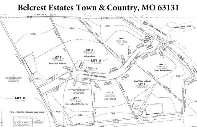 4 Lot 4 Belcrest Estates, Town and Country, MO 63131 (#19088456) :: Clarity Street Realty