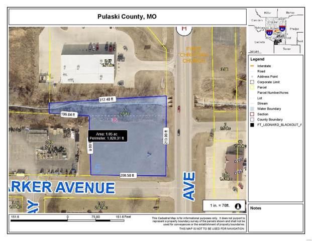 0 Ichord Avenue, Waynesville, MO 65583 (#19088530) :: Matt Smith Real Estate Group