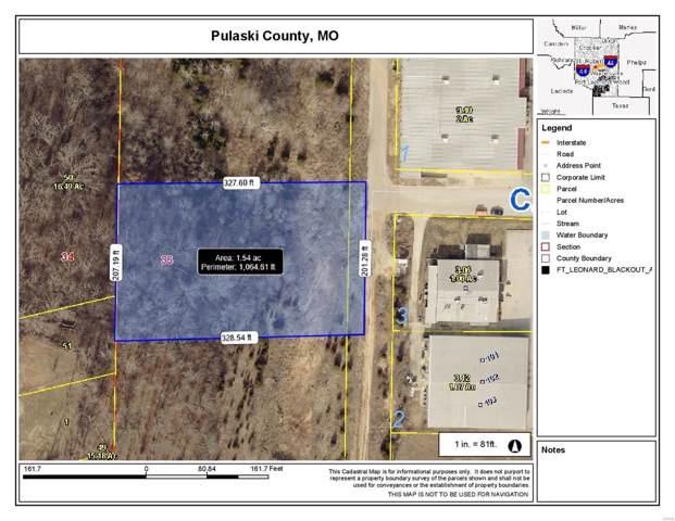 0 C.W. Parker Avenue, Waynesville, MO 65583 (#19088565) :: Matt Smith Real Estate Group