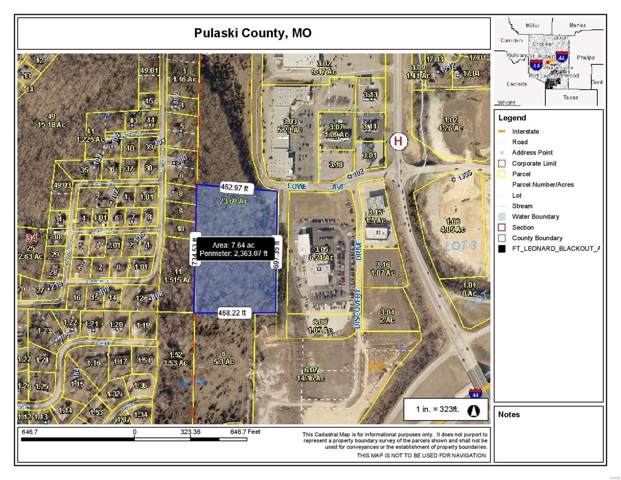 0 Lowe Drive, Waynesville, MO 65583 (#19088588) :: Matt Smith Real Estate Group