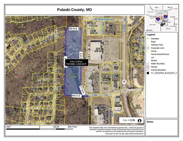 0 Lowe Drive, Waynesville, MO 65583 (#19088591) :: Matt Smith Real Estate Group