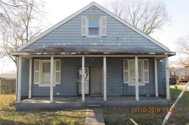 143 S Mill Street, NEW MEMPHIS, IL 62266 (#19088603) :: Hartmann Realtors Inc.