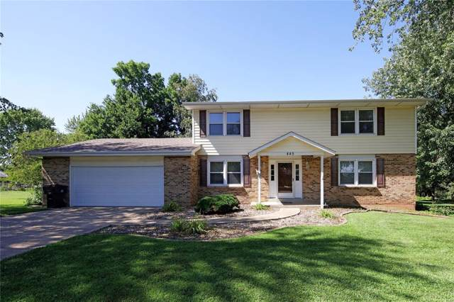 445 Timberidge Drive, Saint Peters, MO 63376 (#20002215) :: Hartmann Realtors Inc.