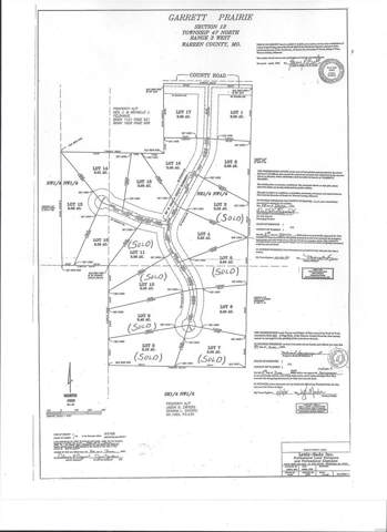 1 Lot Bonnie Bell Dr, Warrenton, MO 63383 (#20002316) :: Matt Smith Real Estate Group