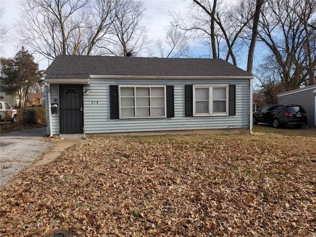 414 Mueller Avenue, St Louis, MO 63135 (#20002670) :: The Becky O'Neill Power Home Selling Team