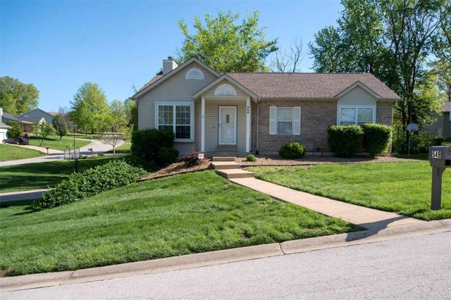 549 Oak Hill Dr, Lake St Louis, MO 63367 (#20003777) :: Clarity Street Realty