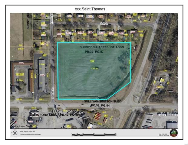 0 Saint Thomas Road, Granite City, IL 62040 (#20003908) :: Sue Martin Team