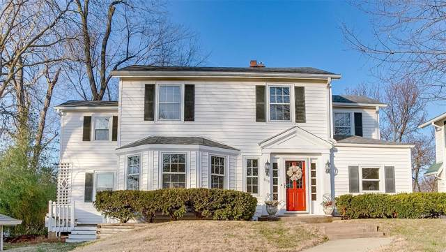 615 Fairview Avenue, Webster Groves, MO 63119 (#20004241) :: Clarity Street Realty