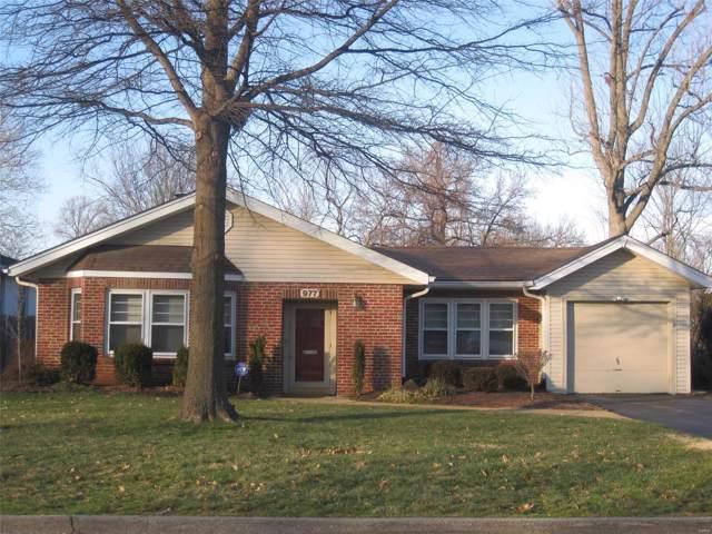 977 Glenbrook Avenue, Glendale, MO 63122 (#20004658) :: Clarity Street Realty