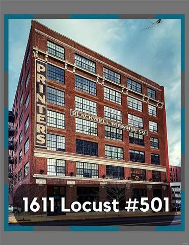 1611 Locust #501, St Louis, MO 63103 (#20005564) :: Peter Lu Team
