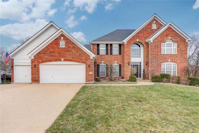 577 Castle Ridge Drive, Ballwin, MO 63021 (#20006799) :: St. Louis Finest Homes Realty Group