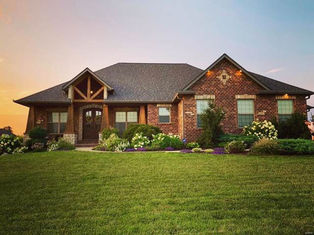 8441 Stone Ledge Drive, Edwardsville, IL 62025 (#20006808) :: Sue Martin Team