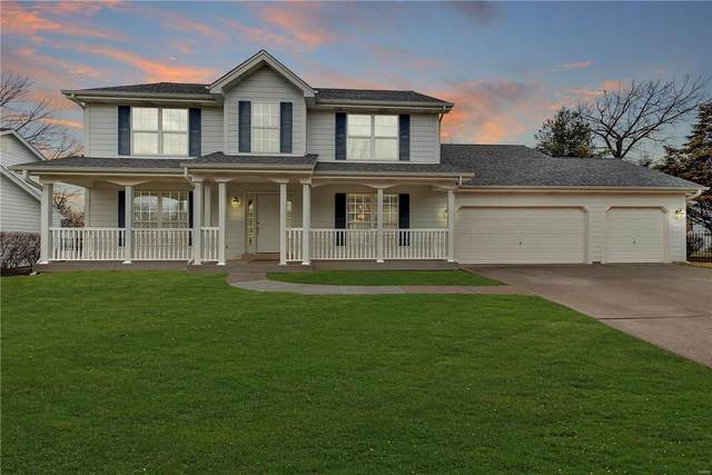 541 Autumn Bluff Drive, Ellisville, MO 63021 (#20006843) :: The Becky O'Neill Power Home Selling Team
