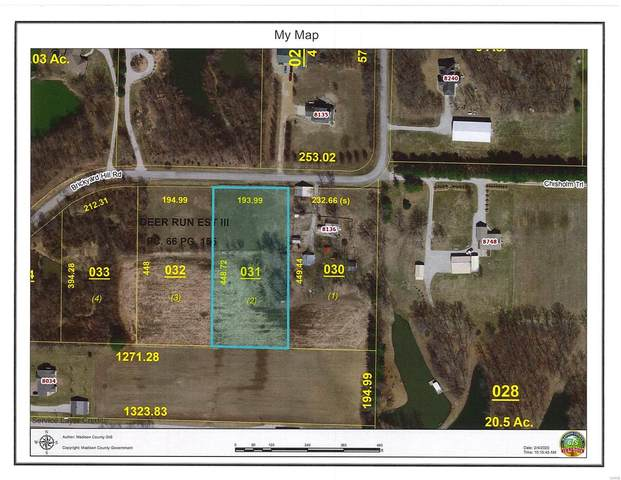8136 Brickyard Hill Tract 2 Road, Worden, IL 62097 (#20006958) :: Hartmann Realtors Inc.