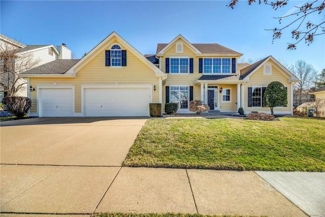 1280 Bluffview Ridge Drive, Chesterfield, MO 63005 (#20007022) :: Kelly Hager Group | TdD Premier Real Estate
