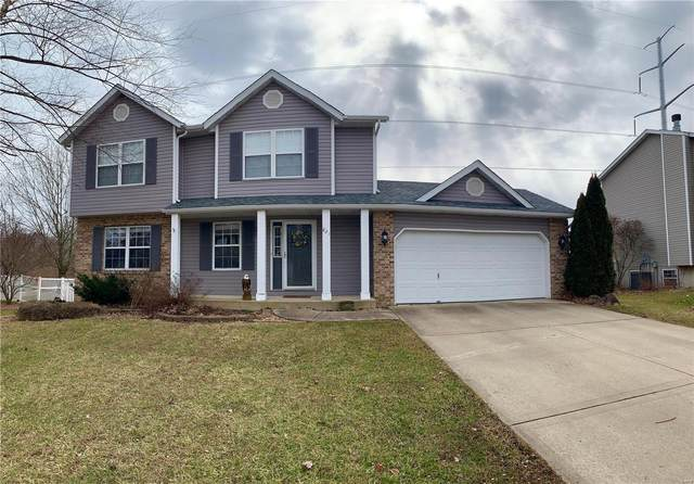 821 Cedar Valley Dr, Maryville, IL 62062 (#20007670) :: Kelly Hager Group | TdD Premier Real Estate