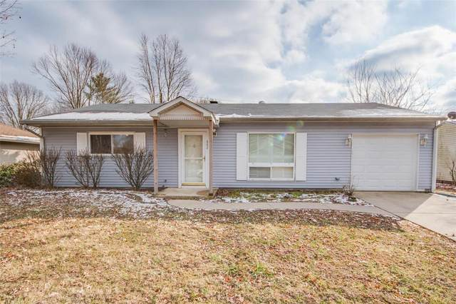 602 Saint Anthony Drive, Godfrey, IL 62035 (#20008106) :: Fusion Realty, LLC