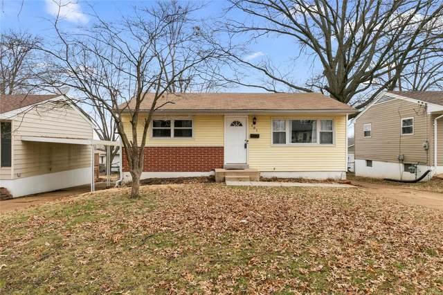 181 Floralea, St Louis, MO 63127 (#20009138) :: Sue Martin Team