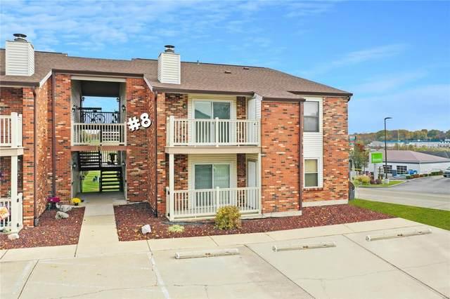 8 Meadowridge Condo East, Columbia, IL 62236 (#20009379) :: Clarity Street Realty