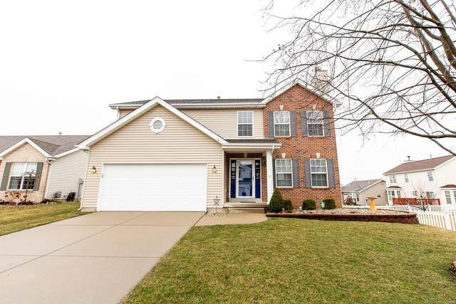 708 Terra Springs Way, Fairview Heights, IL 62208 (#20009866) :: RE/MAX Vision