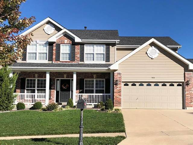 1716 Woods Mill Drive, Wentzville, MO 63385 (#20009914) :: Parson Realty Group