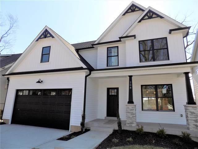 208 W Rose Hill Avenue, Kirkwood, MO 63122 (#20010612) :: RE/MAX Vision