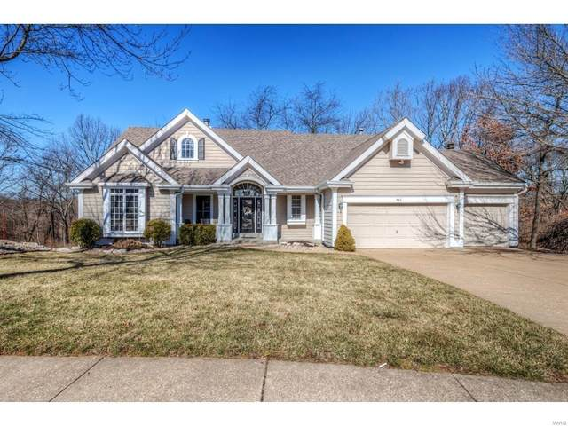 461 Bluff Meadow Drive, Ellisville, MO 63021 (#20011992) :: The Becky O'Neill Power Home Selling Team