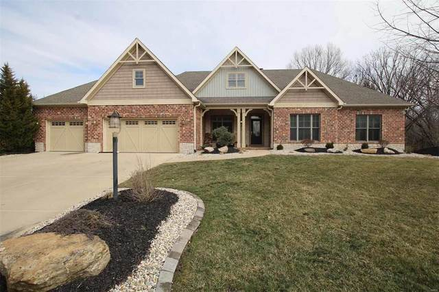 4511 Eagle Ridge Court, Godfrey, IL 62035 (#20012604) :: RE/MAX Vision