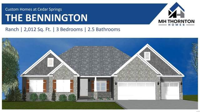 0 Bennington @ Cedar Springs Court, Lake St Louis, MO 63367 (#20012980) :: Clarity Street Realty