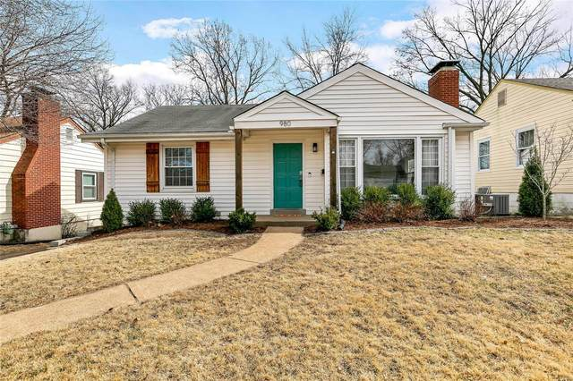 980 Woodbine Drive, St Louis, MO 63126 (#20013163) :: RE/MAX Vision