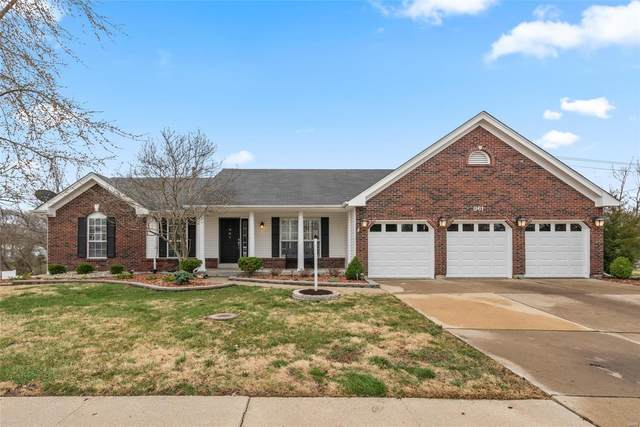 961 Weatherstone Drive, Saint Charles, MO 63304 (#20013769) :: RE/MAX Vision