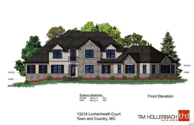 13219 Lochenheath (Lot 3) Tbb Court, Town and Country, MO 63131 (#20014516) :: Kelly Hager Group | TdD Premier Real Estate